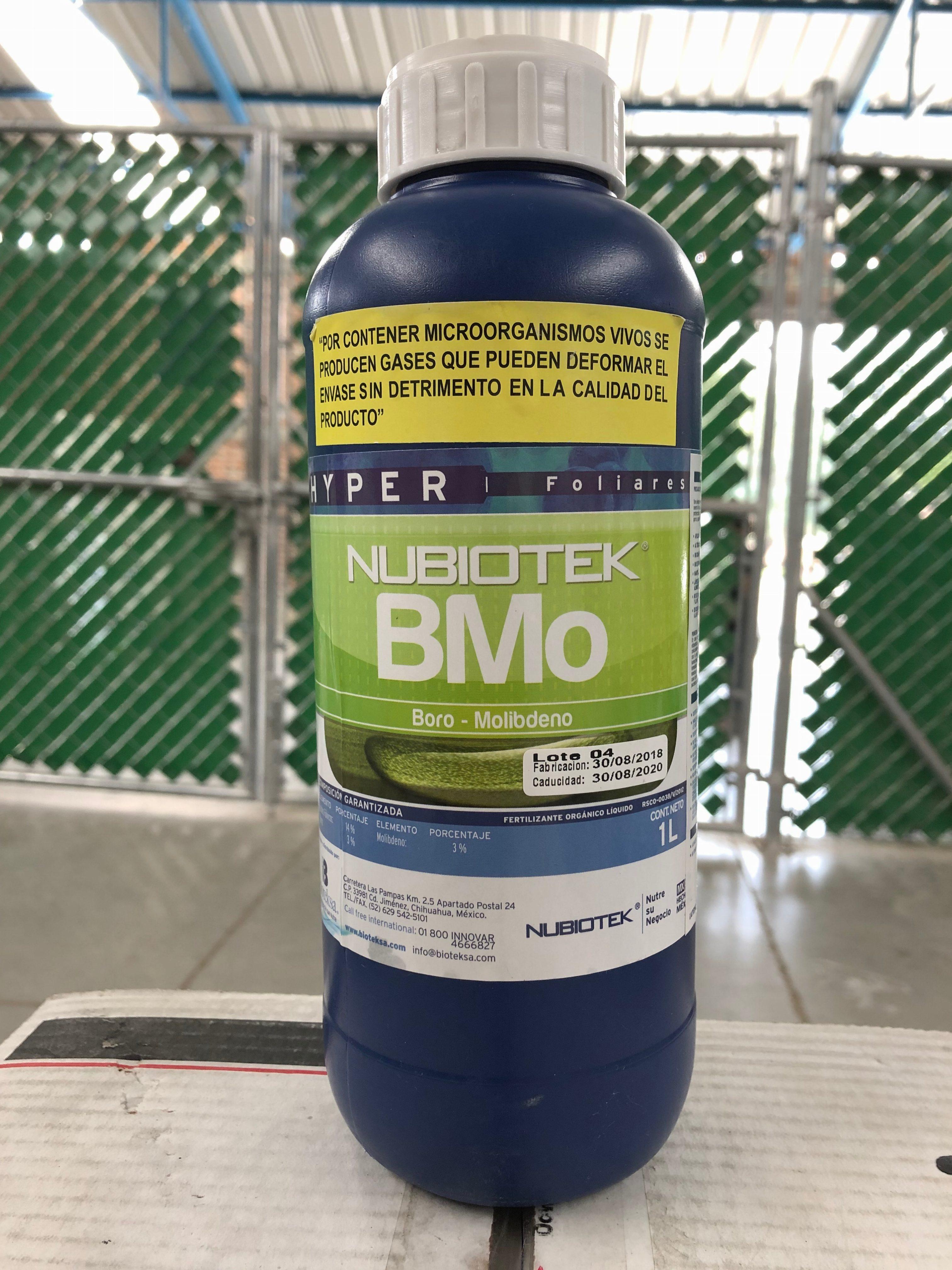 Boro-Molibdeno (BMO)    12×1